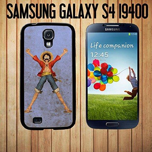 OUUcase ideale einen Piraten Luffy King Custom made Case/cover/skin für Samsung Galaxy S4-Black-Tasche für HD design (Piraten Custom)