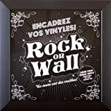 Pour pochettes 33T Cadre pour disque vinyle 33 tours Accessoire design et original pour accrocher au mur D/écoration murale pour salon et chambre Id/ée cadeau d/éco