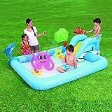 YAWJ Familienunterhaltungslounge Kinderspiele Aufblasbarer Swimmingpool, Wasserspielzeug Planschbecken, Garten Im Freien
