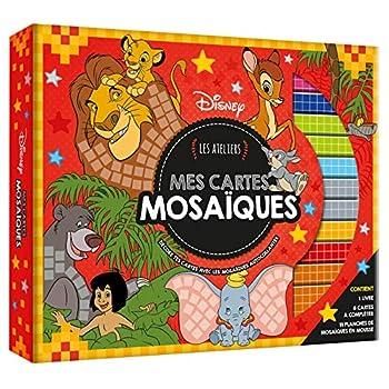 DISNEY - Coffret Les Ateliers - Mes Cartes Mosaïques