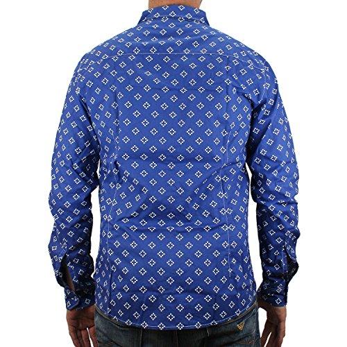 Armani Jeans, Herren Freizeit-Hemd Mehrfarbig