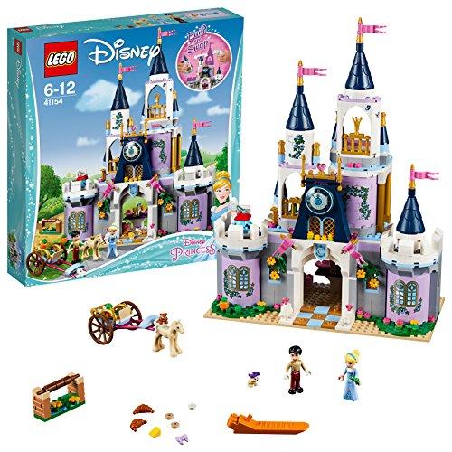 41154 - Cinderellas Traumschloss, Beliebtes Kinderspielzeug (Disney Kürbis)