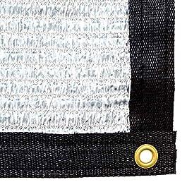 Be Cool Solutions Rete Ombreggiante Aluminet – capacità d'Ombra 70% – Schermo con Materiale Altamente Termo-Riflettente Impermeabile – Respingi Calore – Adatto a Serre, Tende, Cucce da Esterno, Auto