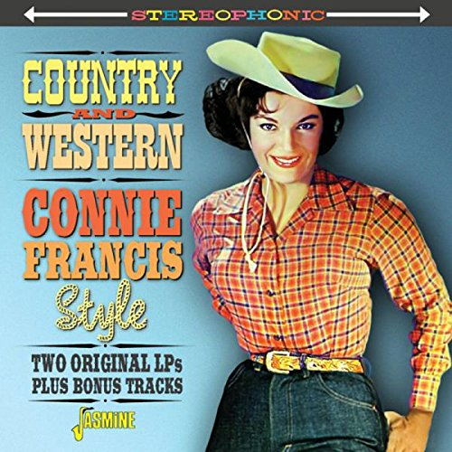 Country & Western Connie Francis Style - Two Original LPs Plus Bonus Tracks Test