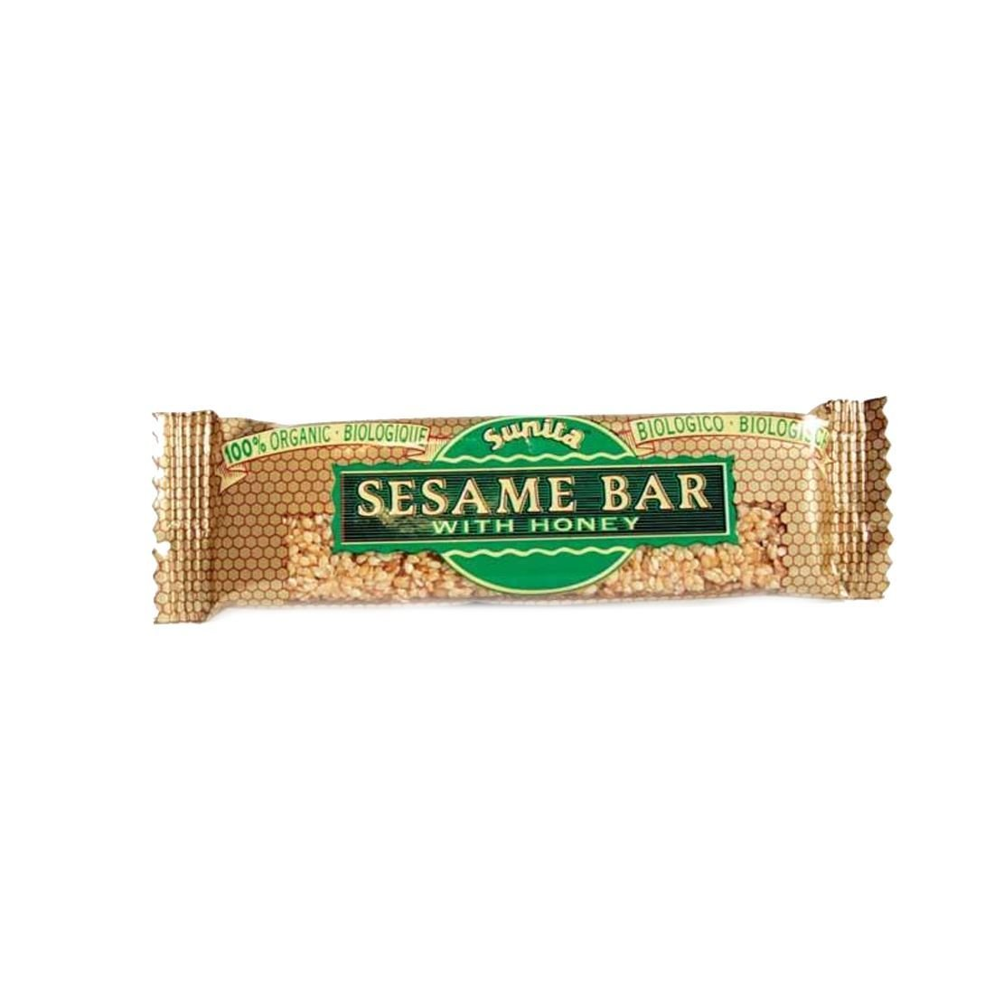 Sunita | Sesame & Honey Bar - organic | 9 x 30g