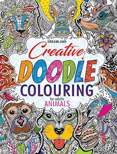 Creative Doodle Colouring - Animals & Birds