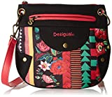 Desigual Bols_sesa Women's Cross-Body Bag Black (Negro) 25x23x98 cm (B x H x T)