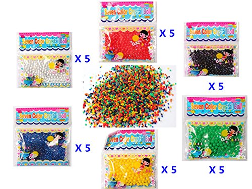 water-beads-chickwin-30-bags-crystal-soil-water-beads-bubble-big-beads-magic-jelly-balls-for-flower-