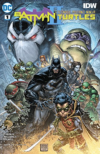 Batman/Teenage Mutant Ninja Turtles II (2017-2018) #1 ...
