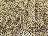 Minerva Crafts Animal Print Polyester Chiffon Kleid Stoff