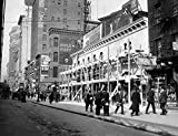 Vintage Images – 1915 1916 Haymarket Theater Becomes Movie House End Of The Tenderloin 6Th Avenue And 30Th Street New York City Usa Fine Art Print (55.88 x 71.12 cm)