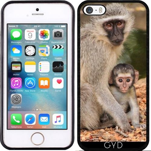 Custodia in silicone per Iphone 7 / Iphone 8 - Mammifero Animale Bambino by Grab My Art Silicone