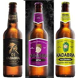 Cerveza KADABRA Pack degustación IBUS de 12 unidades de 33cl