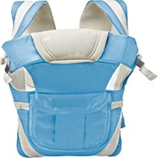 Chhote Saheb Baby Carrier Bag with Hip Seat and Head Support for 4-12 Months WB (Sky Blue)