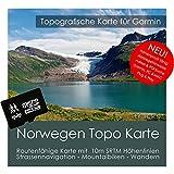 La Norvège Garmin Carte Topo 4GB MicroSD. Carte Topographique GPS Carte de loisirs...