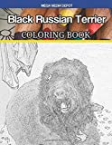 Black Russian Terrier Coloring Book