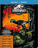 Jurassic World: 5-Movie Collection - Jurassic World: 5-Movie Collection (5 Blu-Ray) [Edizione: Stati Uniti]