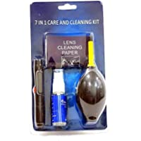 CAMROLITE 7 in 1 Care and Lens Cleaning kit for Nikon Canon Sony All Digital & Film Camera Lenses,binocluars, LCD…