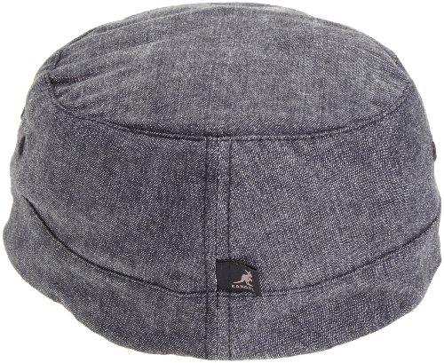 kangol Denim Army Cap - casquette de Baseball - Mixte Noir (Black)