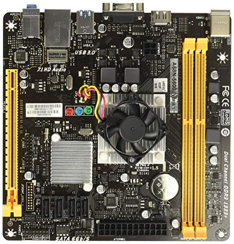 Biostar A68N-5600AMD A68H Mini-ITX Motherboard -