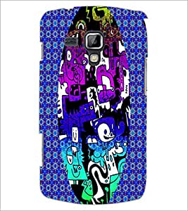 PrintDhaba Graffiti D-3950 Back Case Cover for SAMSUNG GALAXY S DUOS 2 S7582 (Multi-Coloured)