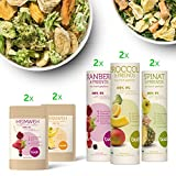 BUAH® SMOOTHIE-DETOX-KORB | gefriergetrocknete Früchte & Superfoods für leckere Früchte-Smoothies und gesunde Snacks zwischendurch | 100% Frucht | 0% Zusätze | Healthy Snacks