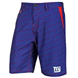"""New York Giants NFL """"Dots"""" Men's Casual Polyester Walking Shorts"""