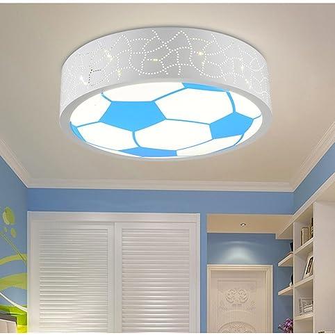 LYXG Kinderzimmer Lampe LED Deckenleuchte Für Jungen Und Mädchen Und  Einladende Zimmer Licht Energie Cartoon Licht Fußball Eye Care Kinder Lampen  ...