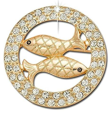 Gnzoe Jewelry, Womens Brooch Rhinestone Constellation Shape Bridal Wedding Brooch