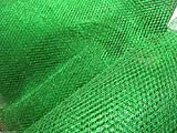 Netz-Stoff, grün Metallic, inkl. 150 cm breit, £ 4.99 m