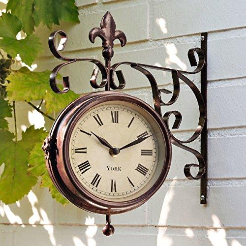 Gärtner Pötschke Garten-Uhr-Thermometer Old York