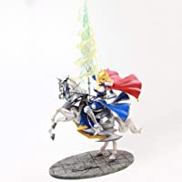 VENDISART Fate Stay Night Saber Arutoria Pendoragon Horse Riding Action Figure Fate Grand Order Anime Figure Toys for Kids Children Gifts
