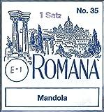 Thomastik Mandola Strings, Complete Set, WEICH (Light), Steel Core Chrome Wound