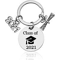 BFACCIA Portachiavi Regalo di Laurea Portachiavi-2021 Class Of, Ricordo di laurea per Studenti Compagni di Classe Figli…