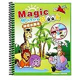 YunYoud Kinder Bildung Magic Water Painting Board Magie Graffiti Farbe Malerei Spielzeug spielzeugladen babyspielsachen motorikspielzeug Jungs parkgarage kran sandkasten