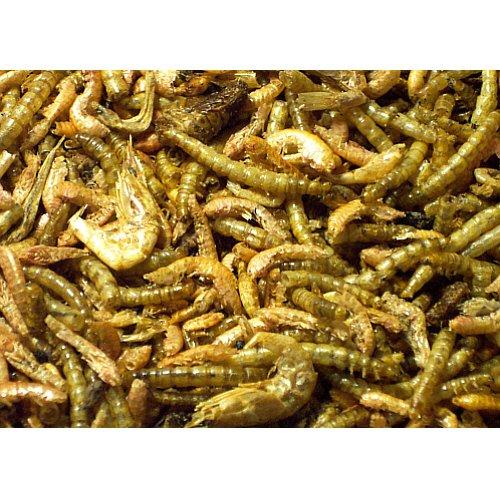 Steppenlemmings 35g tierischer Eiweiss MIX, für Nager und Vögel