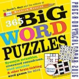 365 Big Word Puzzles Color Page-A-Day Calendar 2016 by David L. Hoyt (2015-08-15)
