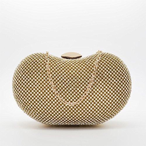 London Footwear - Sacchetto donna oro