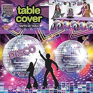 Forum Novelties x77977Disco para Mesa de fiesta, multicolor, talla única