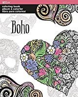 Trends Coloring Book -Boho