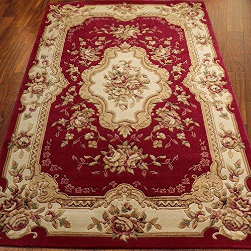 KELE Verdickt,schnittblumen,Teppich Living Room,Coffee Table,dedream,Studie,zurück-C 140x200cm(55x79inch) (Teppich Reinigung-maschinen Dampf)
