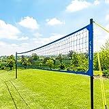 Vermont Kit de Volleyball Portable - Poteaux, Filet, Délimitations Terrain pour Volley/Beach-Volley (avec Sac de Rangement) (Volleyball)