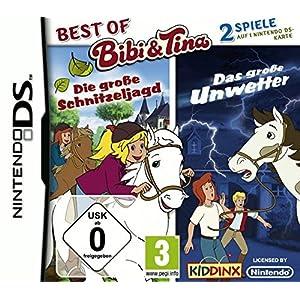 Best of Bibi und Tina: Die große Schnitzeljagd + Das große Unwetter – [Nintendo DS]