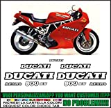 Kit adesivi decal stikers DUCATI SS 900 SUPER SPORT 1991 (ability to customize the colors)