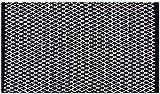 Pro Home Teppich Läufer Matte Unterlage Vorleger Fußabtreter, Breite Auswahl an Modernen Fleckerl- und Baumwollteppiche (60x90 cm/Hash)
