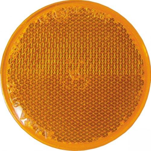 Rückstrahler orange d.60