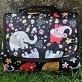 QWEASDZX Feuchtigkeitsfeste Auflage Oxford Tuch wasserdicht tragbare tragbare Picknick-Matte im Freien FaltzeltauflageD 150X200CM
