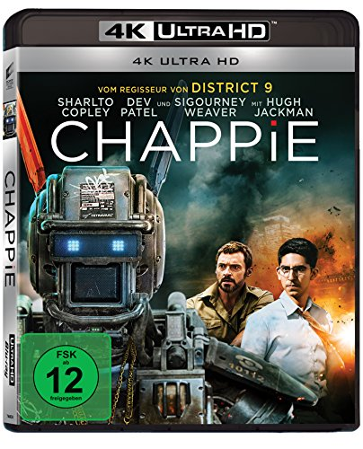 Chappie - 4k Ultra HD Blu-ray