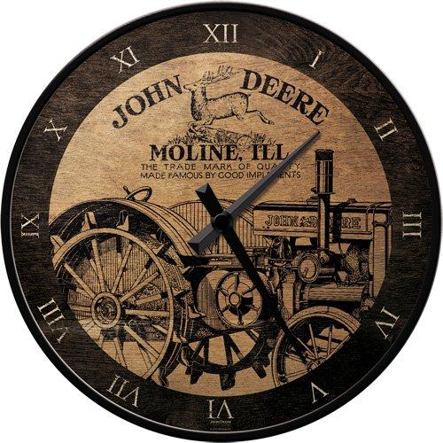 nostalgic-art-51041-orologio-da-parete-motivo-john-deere-genuine-31-cm