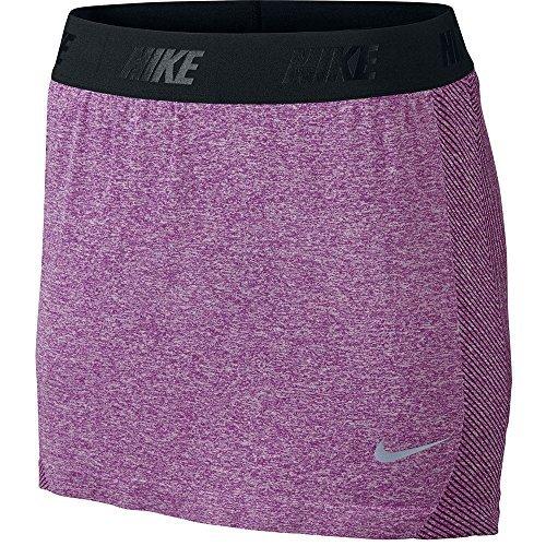 Nike Golf Skort Frauen konvergieren Nahtlose Rock Ausbildung 725780 (SM x eine Größe, Violett)